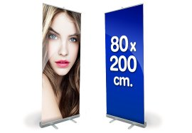 Espositore Roll-Up Ecoroll 80×200 Cm