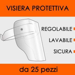 visiera protettiva pvc