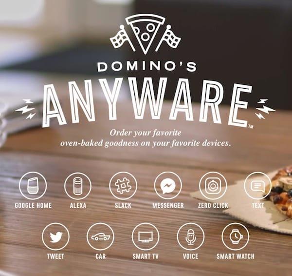 Le campagne sui social di Domino consentono agli utenti di ordinare pizza tramite Twitter