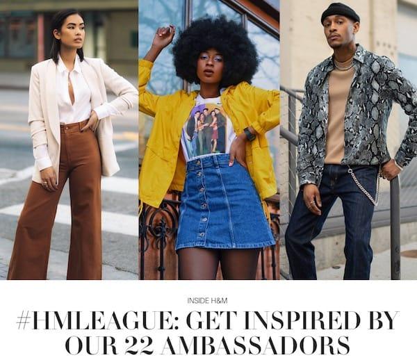 H&M sfrutta il potere degli influencer per campagne sui social media all'avanguardia