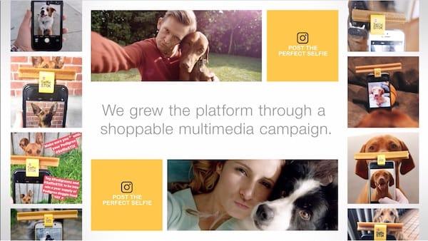 La campagna sui social media di Pedigree per il Pup Booth è stata un esempio divertente e creativo