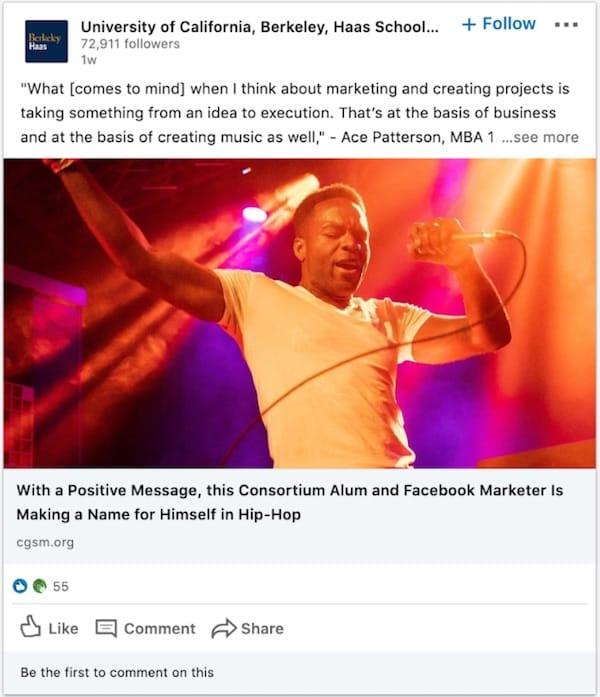 La Haas School of Business mostra come celebrare gli ex allievi attraverso campagne sui social media di grande successo